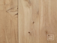 Solid Oak flooring, 20x120 x 500-2400 mm, Rustic grade, planed, without bevel
