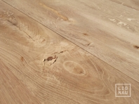Solid Oak flooring, 20x120 x 500-2400 mm, Rustic grade, filled and pre-sanded, without bevel