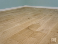 Solid Oak flooring, 20x140 x 400-1400 mm, Nature-Rustic grade, filled and pre-sanded