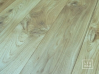 Solid Oak flooring, 20x140 x 500-2400 mm, Rustic grade, filled and pre-sanded