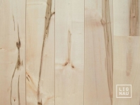 Solid European Maple flooring, 20x120 x 500-2500 mm, Rustic grade, filled and pre-sanded