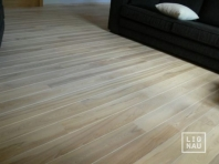 Solid Ash flooring, 15x110 x 400-2400 mm, Prime-Nature grade, white oiled