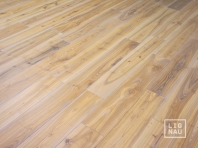 Solid Ash flooring, 15x110 x 400-2400 mm, Rustic grade, white oiled