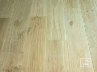 Engineered Oak flooring, 16 x 240 x 1400-2900 mm, Markant grade, filled and pre-sanded