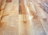 Solid Baltic Birch flooring, 20x160 x 500-2900 mm, Rustic grade, natural oiled