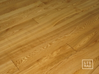 Solid Ash flooring, 20x160 x 500-2800 mm, Nature grade, oiled in color Walnut
