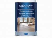 Ciranova Liquid Flooring Wax, colour Brown, 1 liter