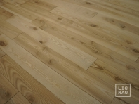 Solid Ash flooring, parquet, 20x120 x 600-2800 mm, Rustic grade, filled and pre-sanded
