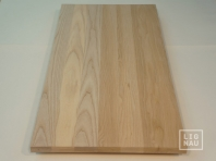 Solid Ash worktop, continuous lamella, thickness 20 mm, Prime-Nature grade, pre-sanded