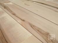 Solid European Maple flooring, 20x160 x 500-2500 mm, Rustic grade, filled and pre-sanded