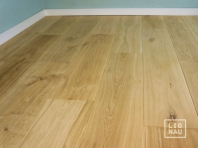 Engineered Oak flooring, 16 x 210 x 1400-2900 mm, Markant grade, filled and pre-sanded