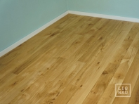 Engineered Oak flooring, 16 x 240 x 1400-2900 mm, Markant grade, natural oiled