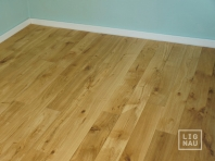 Engineered Oak flooring, 16 x 300 x 1400-2900 mm, Markant grade, natural oiled