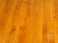 Solid Ash flooring, 20x160 x 600-2800 mm, Rustic grade, oiled in color Cherry