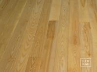 Solid Ash flooring, Parquet, 15x160 x 400-2400 mm, Prime-Nature grade, natural oiled