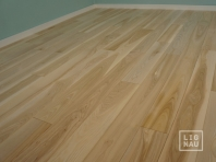 Solid Ash flooring, Parquet, 15x110 x 400-2400 mm, Prime-Nature grade, filled and pre-sanded