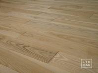 Solid Ash flooring, Parquet, 15x130 x 400-2400 mm, Prime-Nature grade, filled and pre-sanded