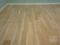 Solid Ash flooring, Parquet, 15x160 x 400-2400 mm, Prime-Nature grade, filled and pre-sanded