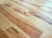 Solid Baltic Birch flooring, 16x120 x 400-2100 mm, Rustic grade, natural oiled