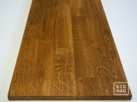 Solid Oak worktop, finger-jointed lamella, 20 mm, Prime-Nature grade, natural oiled