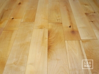 Solid Baltic Birch flooring, 16x120 x 400-2100 mm, Nature grade, natural oiled