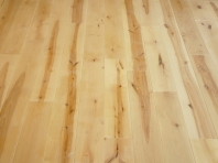 Solid Birch hardwood flooring, Rustic grade 20x140 x 500-2100mm, Hardwaxoil neutral white oiled