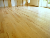 Solid Birch hardwood flooring, Rustic grade 20x160 x 500-2900mm, Hardwaxoil natural oiled