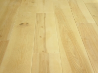 Solid Birch hardwood flooring, Rustic grade 20x160 x 2000-2900 mm, filled and pre-sanded