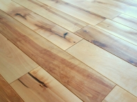 Solid Baltic Birch flooring, 20x160 x 500-1900 mm, Rustic grade, natural oiled
