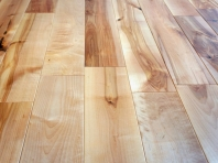 Solid Baltic Birch flooring, 20x180 x 500-1900 mm, Rustic grade, natural oiled