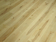 Solid Birch hardwood flooring, Rustic grade 20x210 x 500-1900 mm, filled and pre-sanded