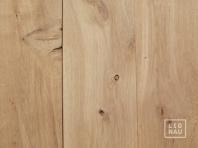 Solid Oak flooring, 20x120 x 500-2400 mm, Rustic grade, planed