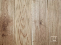 Solid Oak flooring, 20x120 x 500-2400 mm, Markant grade, filled and pre-sanded