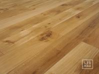 Solid Oak flooring, 20x120 x 500-2400 mm, Rustic grade, natural oiled