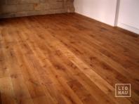 Solid Oak flooring, 20x120 x 500-2400 mm, Rustic grade, oiled in colour Antique